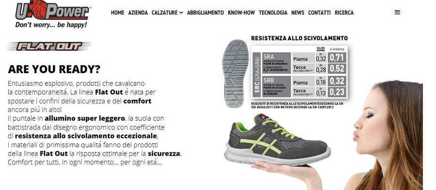 scarpe u-power antinfortunistica