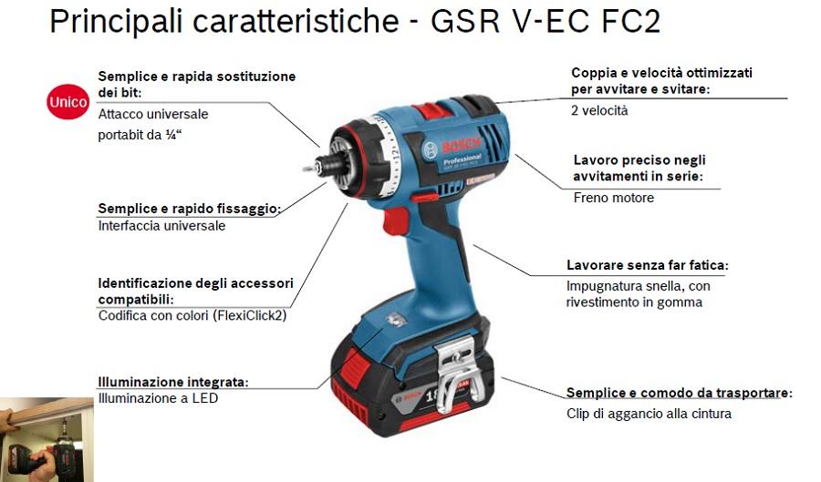 bosch trapano GSR 18 V-EC FC2